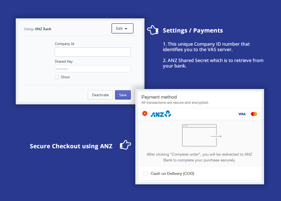 ANZ eGate Payment Gateway for your Shopify Store | Shopiapps in